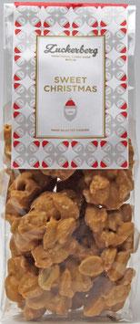 Karamell/Meersalz-Erdnusscluster 160g  Sweet Christmas