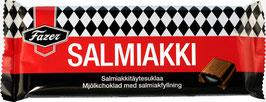Salmiakki - Finnische Lakritzschokolade von Fazer