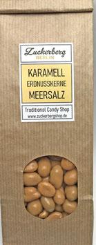 Karamell-Erdnusskerne mit Meersalz