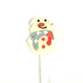 Marshmallow Lolly Schneemann