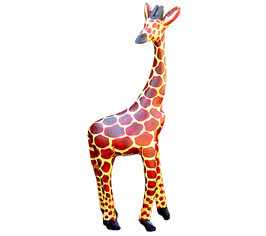 Wooden Carved Giraffe