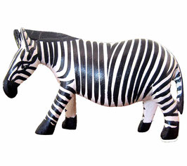 Wooden Carved Zebra