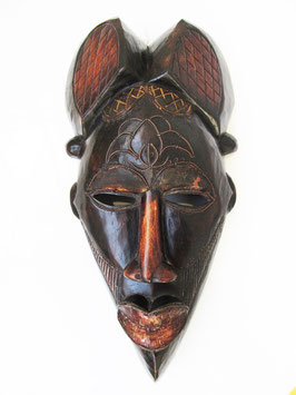 Large Wooden Kenyan Mask