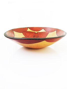 Wooden bowl Elephant style