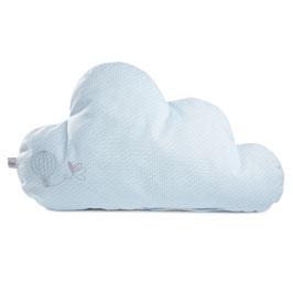 myBabyloon wolkenkissen, mini, babyblau