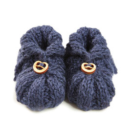 myBabyloon baby shoes *wiesn edition*, navy blue