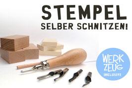 Stempelschnitz-Set Standard inkl. Werkzeug