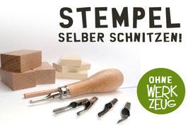 Stempelschnitz-Set  NACHFÜLLPACK