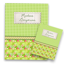 Paper Label green