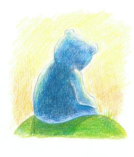 Blaubär im Sommer