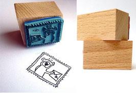 Briefmarke Stempel