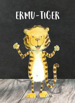 ERMU-Tiger Postkarte