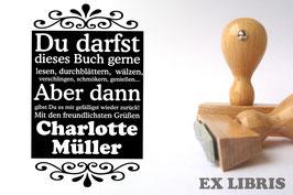 Ex Libris - Klare Ansage