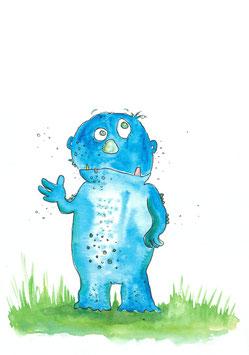 Gulliver macht blau