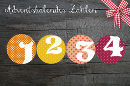 24 STICKER ADVENTSKALENDER * BIG  MIX Serie