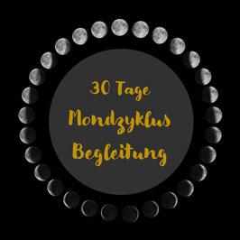 30 Tage MONDZYKLUS Begleitung