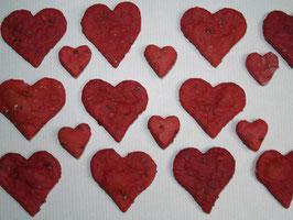 Rote Beete Herzen 100g