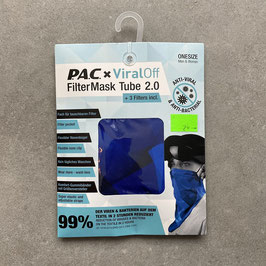 P.A.C. ViralOff Filter Mask Tube Erwachsene