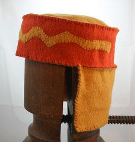 Kopfbedeckung Wollstoff Nr 33