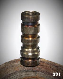 Nr. 391    BARTPERLE unpoliert 5 - 6 mm