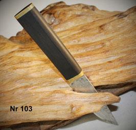 Nr 103  Puukko / Messer dem Design von Tapio Wirkkala nachempfunden