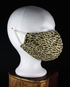 Nr. 430   Behelfs - Mund - Nasen - Maske Gr. L  camouflage