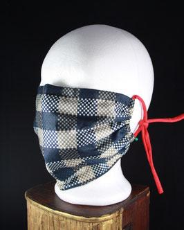 Nr. 435   Behelfs - Mund - Nasen - Maske   GR. uni