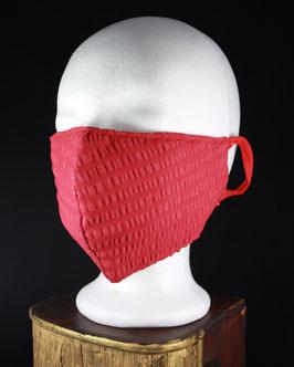 Nr. 434   Behelfs - Mund - Nasen - Maske    Gr. Uni   rot