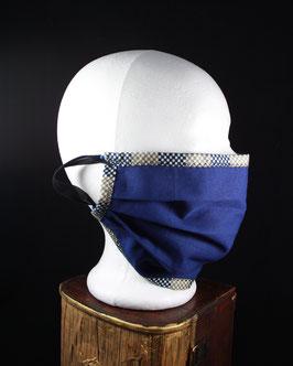 Nr. 441   Behelfs - Mund - Nasen - Maske   Jeansstoff mit Gummi   Gr. uni