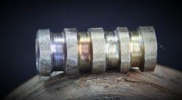 Nr. 412    BARTPERLE unpoliert 5 - 6 mm