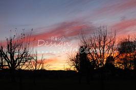 Sonnenuntergang Rickenbach 2