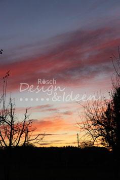 Sonnenuntergang Rickenbach 1