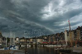 Sturm über Honfleur 1