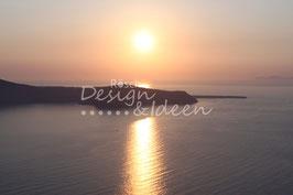 Sonnenuntergang Santoini 2