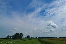 Watte- und Schäfchenwolken