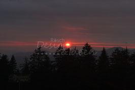 Sonnenuntergang Alp Egg