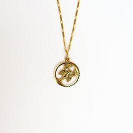 CANCER // KREBS – Sternzeichenkette vergoldet