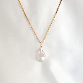 MARGA - Kette mit Perle vergoldet