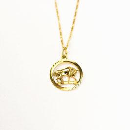 TAURUS // STIER – Sternzeichenkette vergoldet