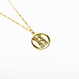 GEMINI // ZWILLINGE – Sternzeichenkette 333 Gold