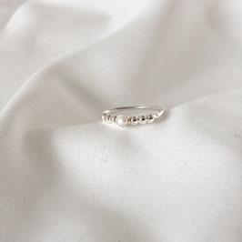 DEVA – Ring mit Perle Silber
