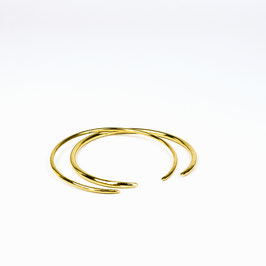 XENIA – Set aus 2 Armreifen Gold