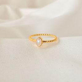 SERAPHINA – Ring Gold mit Mondstein
