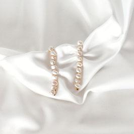 DIMA MAXI - Haarklemmen mit Perlen 2er Set