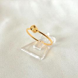 COSIMA MINI — Ring Gold mit Zirkonia Gelb
