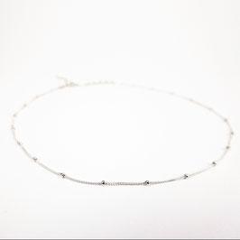 ISKA –Zartes Halsband mit Perlen Silber