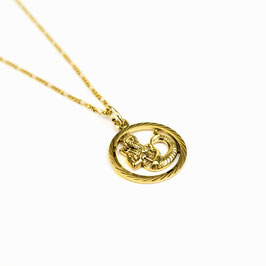 AQUARIUS // WASSERMANN – Sternzeichenkette 333 Gold