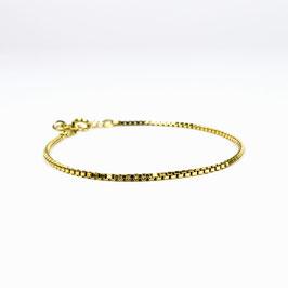 VENEZIA THIN – Armband Gold