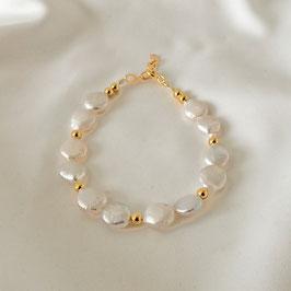 AURORA – Armband mit Perlen Gold
