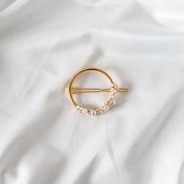 MAGNA HALF - Haarspange mit Perlen